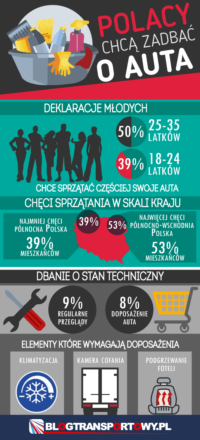 Polacy chcą zadbać o auta