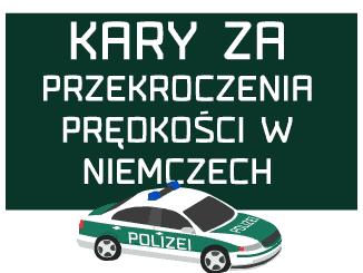 kary za przekroczenie prędkości w Niemczech