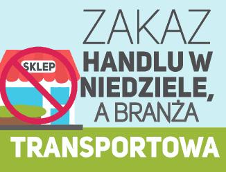Zakaz handlu w niedzielę a branża transportowa